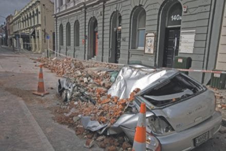 Devastating effects of the Christchurch earthquakes