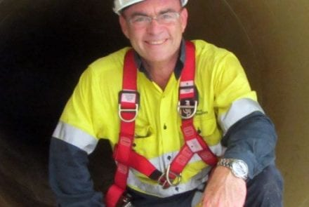 Steve Gibson is the first Australian to be named on the list in the 29-year history of the awards.