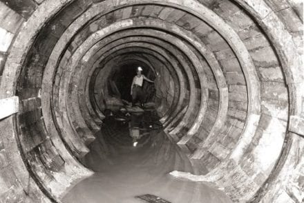 Construction of Brisbane's S1 main sewer