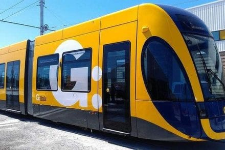 The Gold Coast light rail.