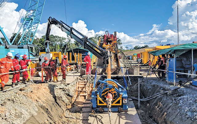 HDD prevails in remote southeast Asia - Trenchless Australasia