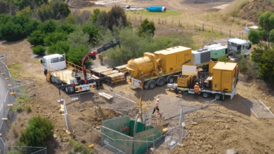 Photo of Adept at sewer installation