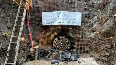 Photo of WATCH: New Melbourne sewer pipeline on track