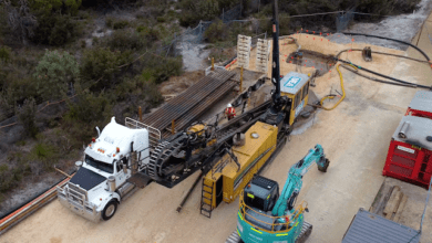 Photo of HDD installations on the Parmelia Gas Pipeline